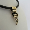 Pendant in 14kt solid gold